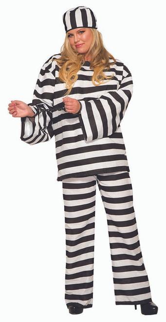 Costume de Condamné Deluxe pour Femmes