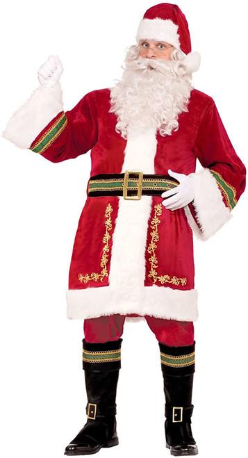 Costume Supérieur Père Noël Classique pour Homme