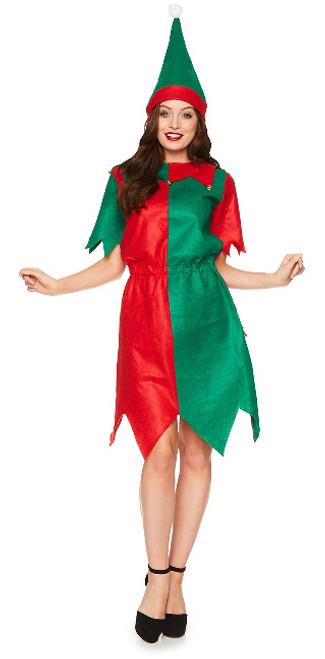 Costume Assistant du Père Noël pour Femme