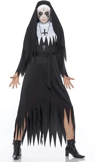 Costume de Nonne Démoniaque pour Femme
