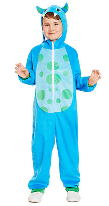 Costume Joyeux Monstre Bleu Enfant