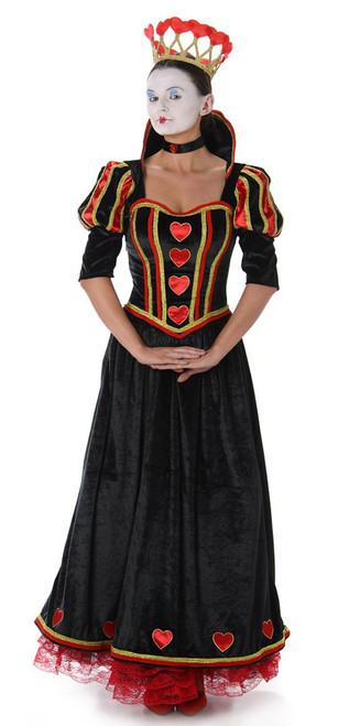Costume de Reine de Cœur pour Femme