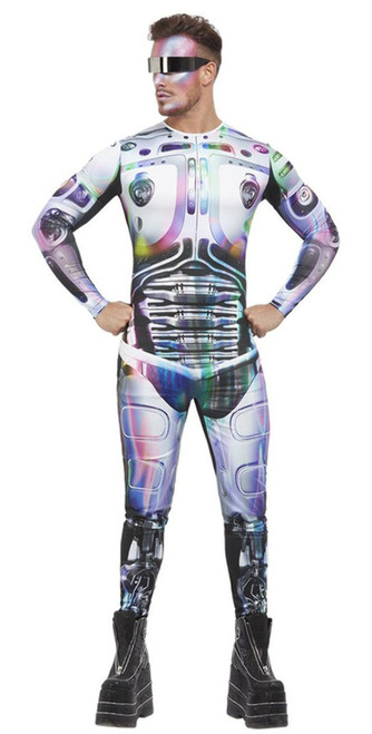 Costume d'Extraterrestre Cyberespace pour Homme