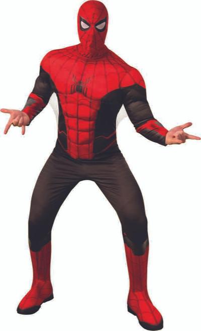 Costume Spiderman Rouge et Noir Homme
