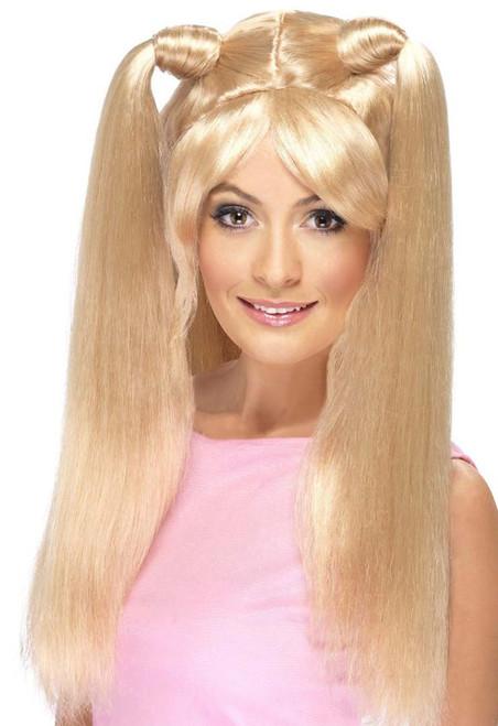 Perruque Blonde Poudre Bébé