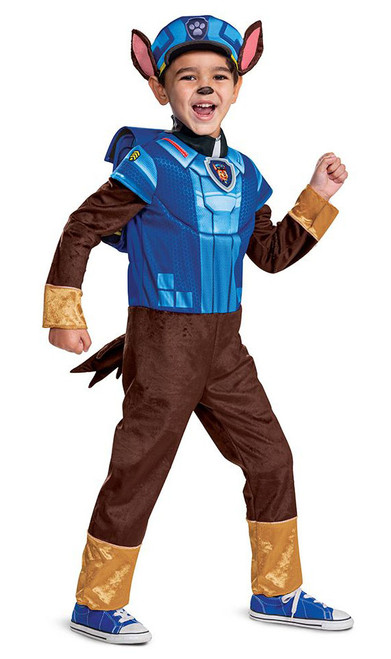 Costume Pat' Patrouille Chase Deluxe pour Bambin