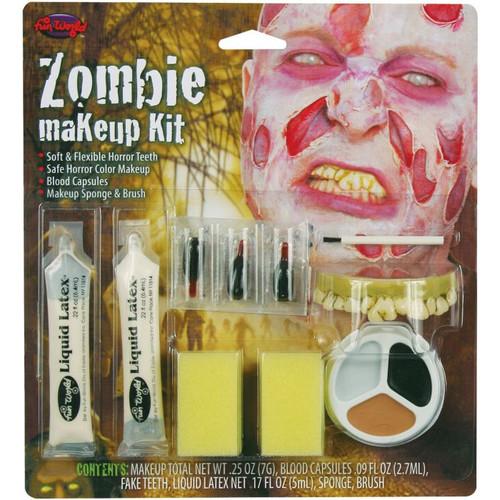 Kit  Horreur de Maquillage pour Zombie