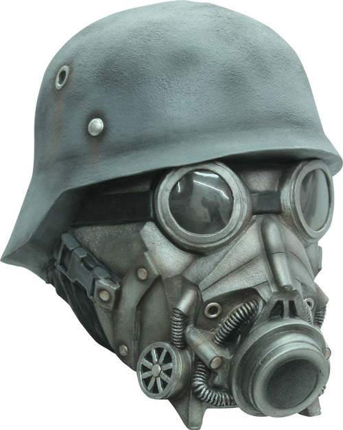 Masque en Latex pour la Guerre Nucléaire