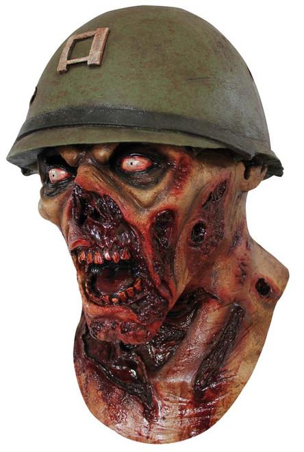 Masque en Latex Zombie de Capitaine Lester