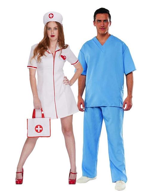 Couple Infirmière et Médecin