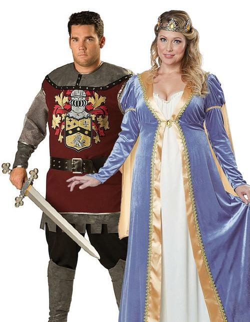 Couple Noble Médiéval