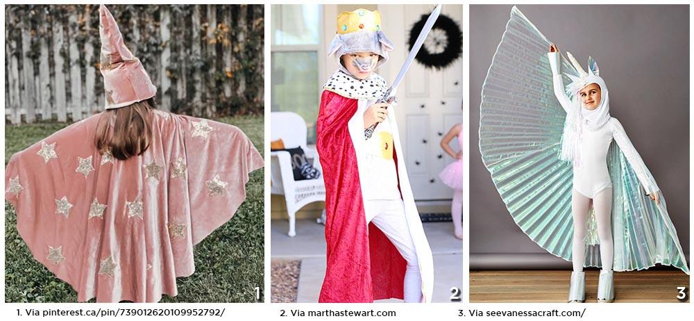 Idées de Costume avec Capes
