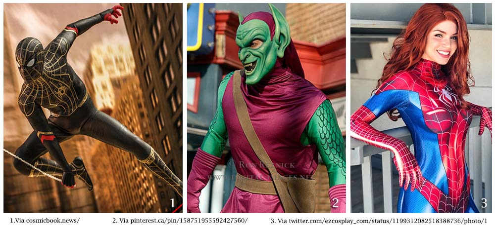 13 Costumes Cool de Spider-Man