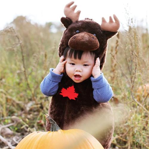 Déguisement Orignal pour Enfant Fête du Canada