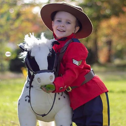 Costume GRC pour Enfants avec cheval