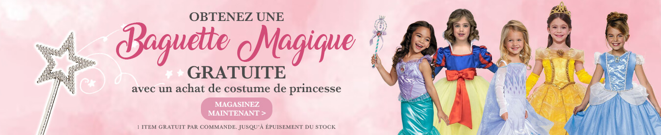 Costume de princesse promo