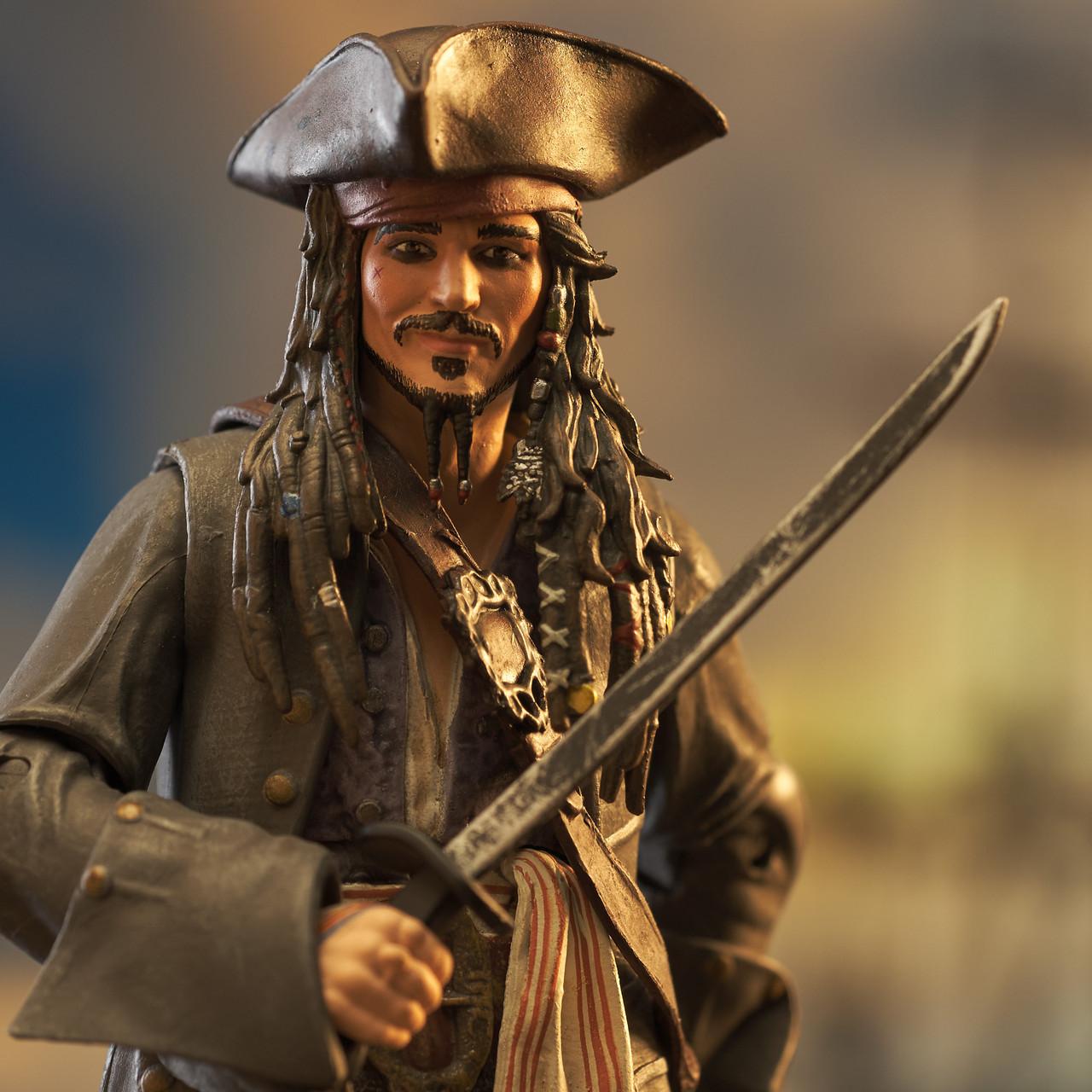 Jack Sparrow Deluxe Action Figure
