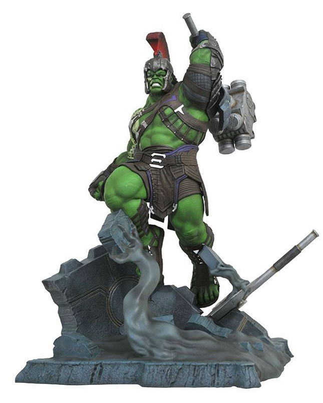 Marvel Milestones Thor Ragnarok Gladiator Hulk Resin Statue