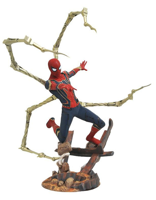 Marvel Premier Collection Avengers Infinity War Spider-Man Resin Statue