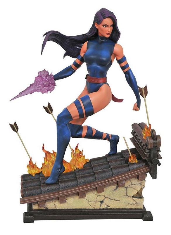 Marvel Premier Collection Psylocke Resin Statue