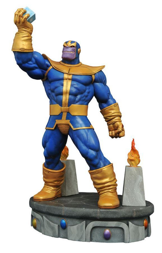 """Marvel Premier Collection Thanos 12"""" Resin Statue"""