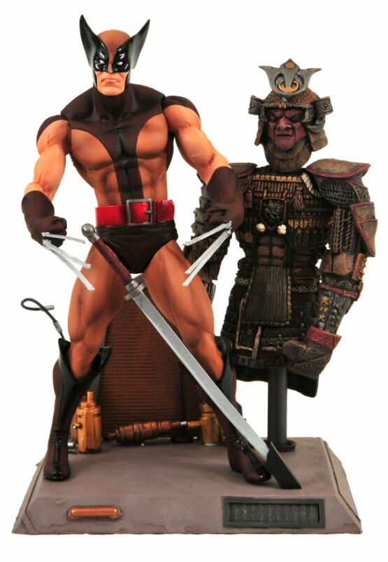 Marvel Select Brown Costume Wolverine Action Figure