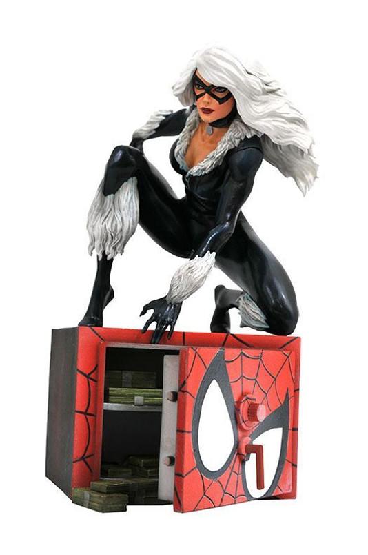 Marvel Comic Gallery Black Cat PVC Diorama