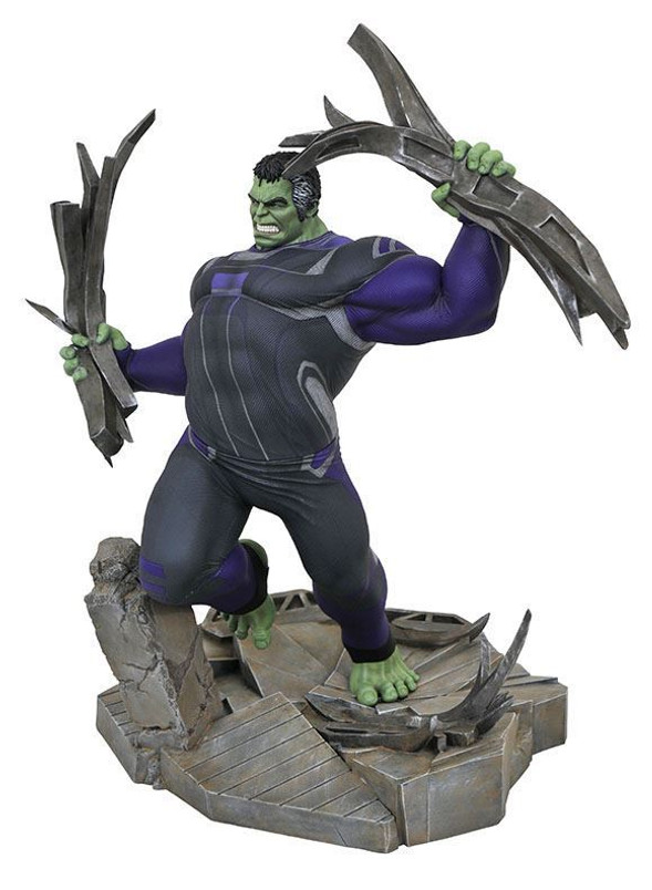 Marvel Movie Gallery Avengers Endgame Hulk Deluxe PVC Diorama