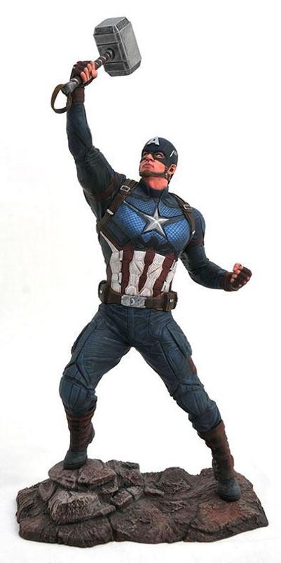 Marvel Movie Gallery Avengers: Endgame Captain America PVC Diorama