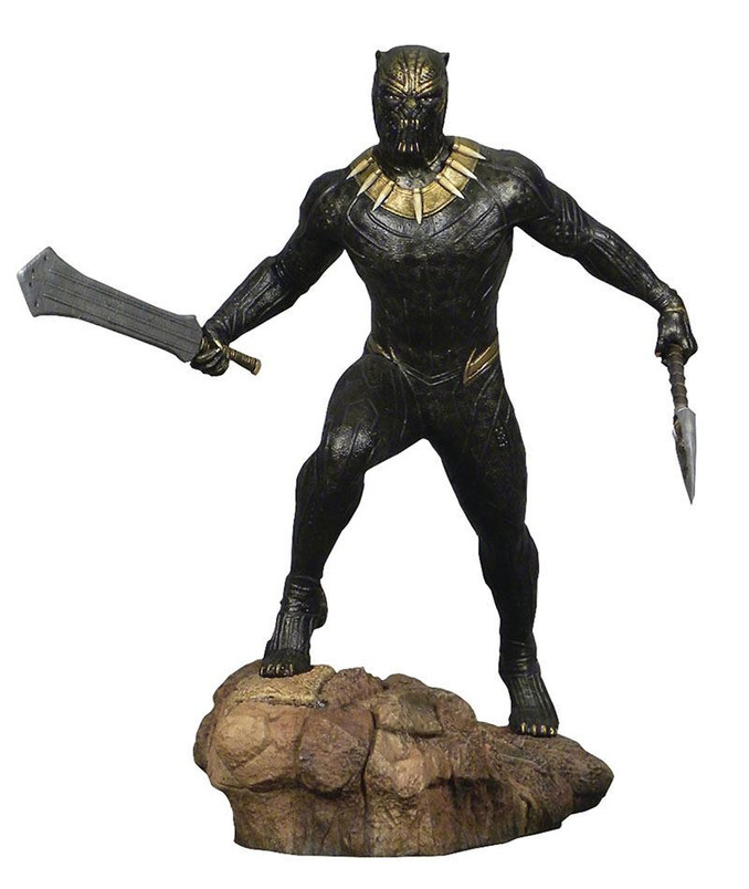 Marvel Movie Gallery Black Panther Killmonger PVC Diorama