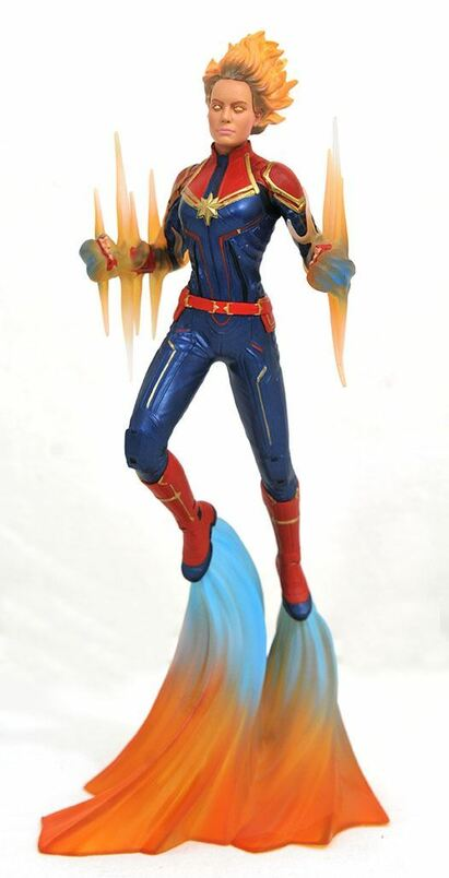 Marvel Movie Gallery Captain Marvel Binary PVC Diorama