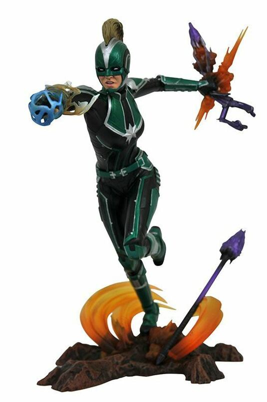 Marvel Movie Gallery Captain Marvel Starforce PVC Diorama