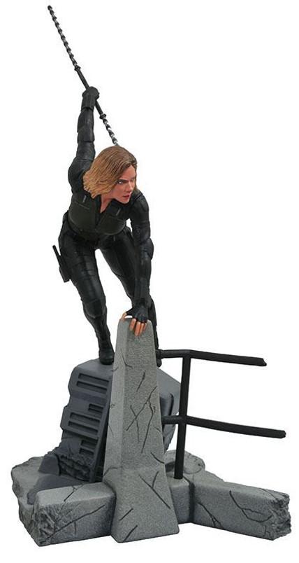Marvel Movie Gallery Infinity War Black Widow PVC Diorama