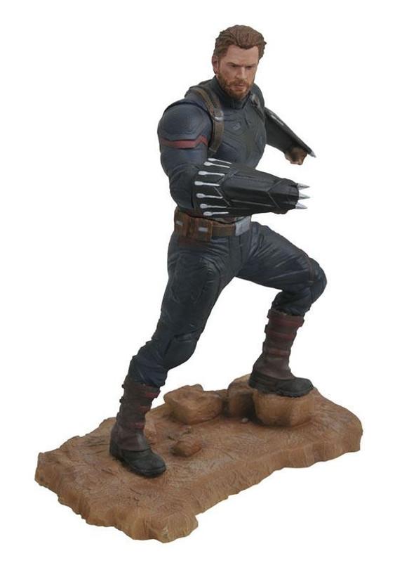 Marvel Movie Gallery Infinity War Captain America PVC Diorama