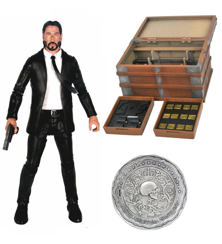 John Wick (Movie Set) Deluxe Action Figure