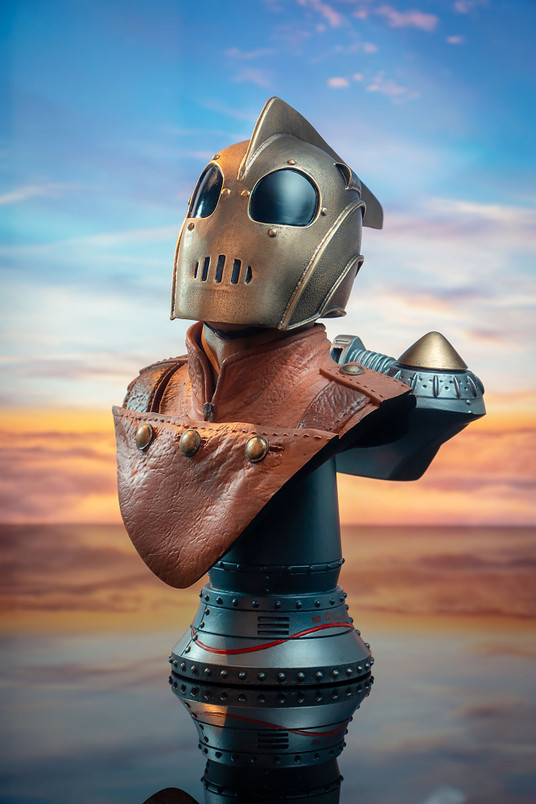 The Rocketeer Legends in 3-Dimensions 1:2 Scale Bust