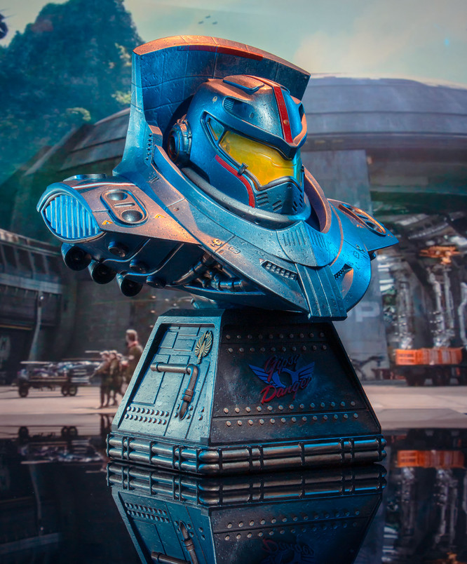 Pacific Rim Uprising - Gipsy Danger Legends in 3-Dimensions Bust