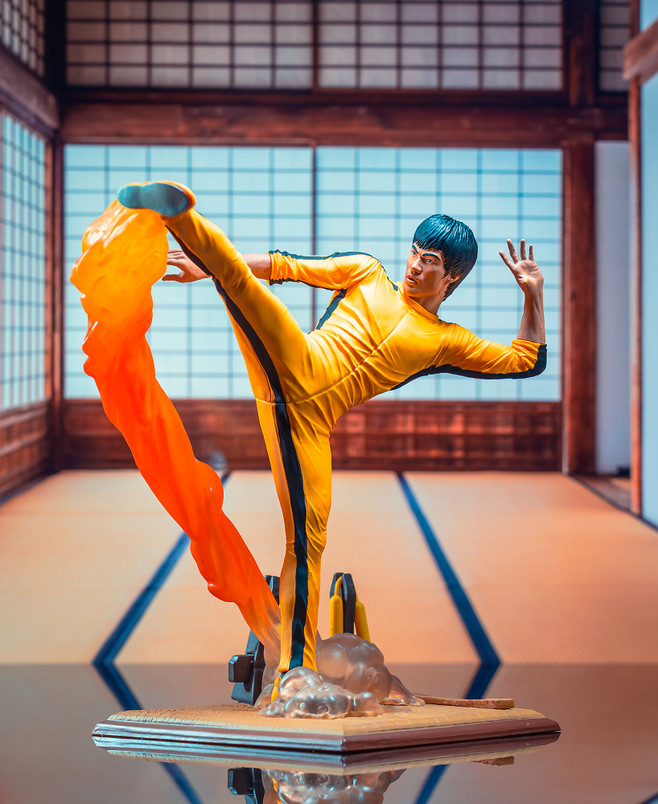 Bruce Lee (Fire) Gallery Diorama