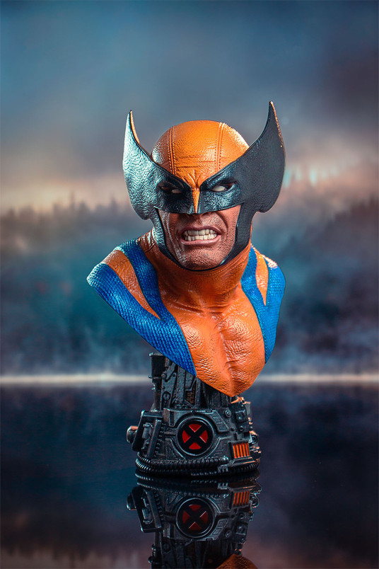 Wolverine Legends in 3-Dimensions Bust