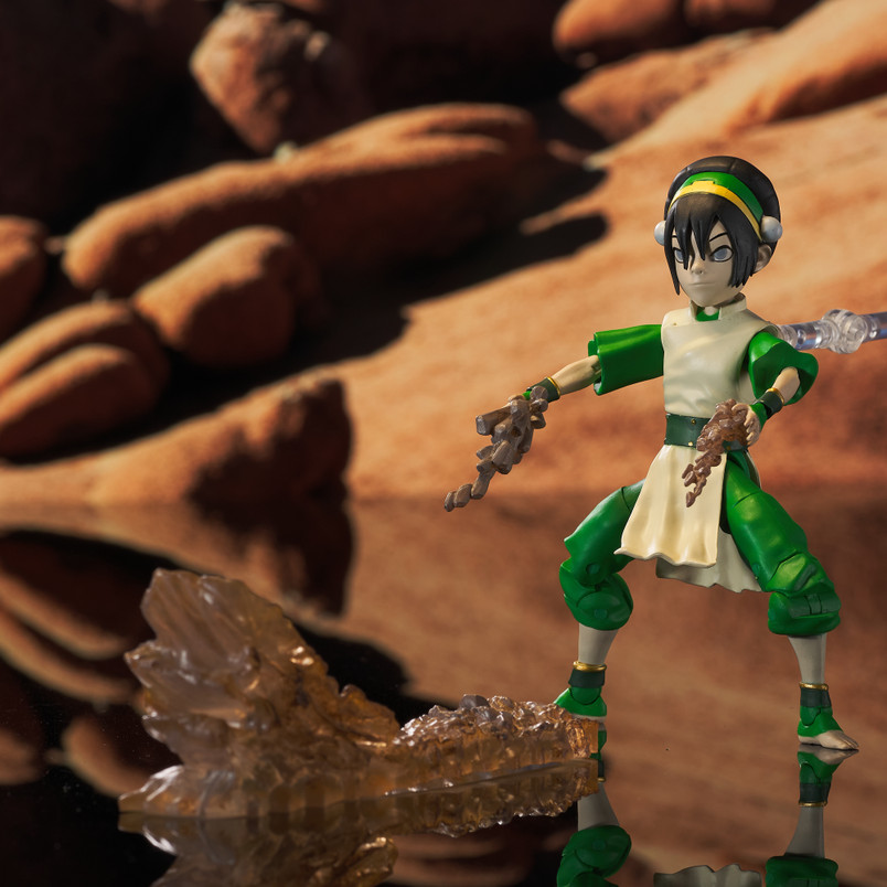 Toph (Series 3) Deluxe Action Figure