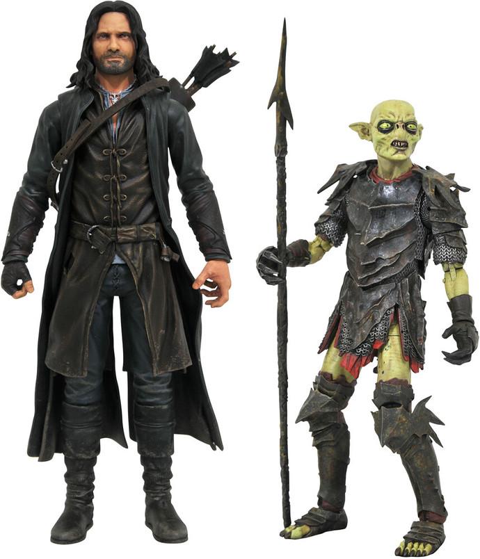 Aragorn and Moria Orc