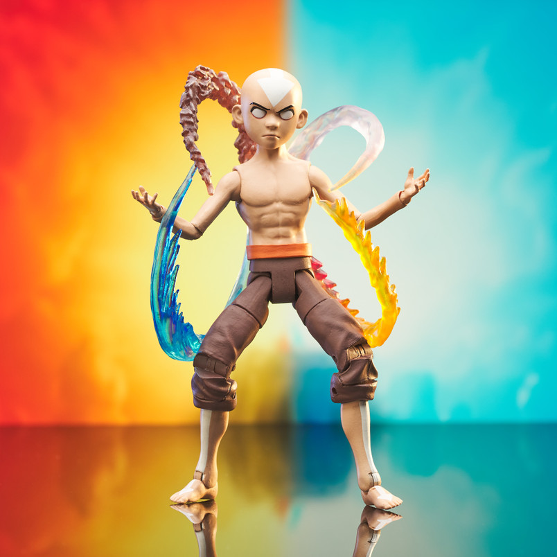 Aang Final Battle (Series 4) Deluxe Action Figure