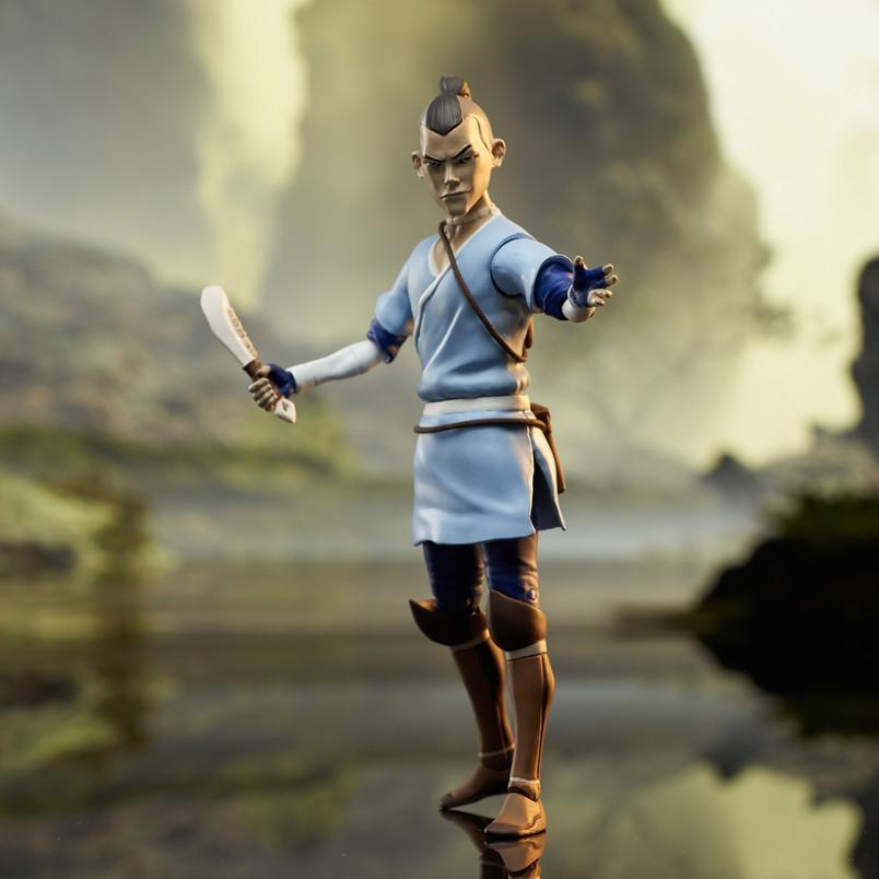 Sokka (Series 4) Deluxe Action Figure