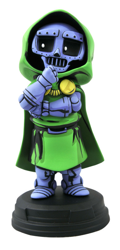 Dr Doom Animated Style Statue