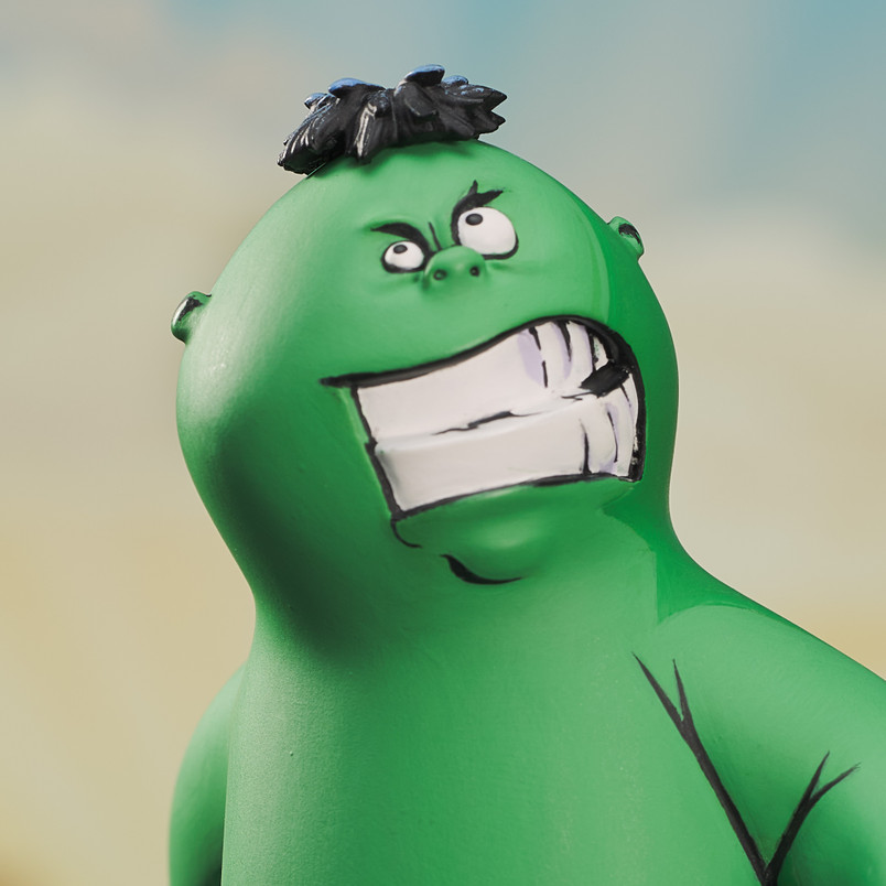Hulk Animated Style Statue