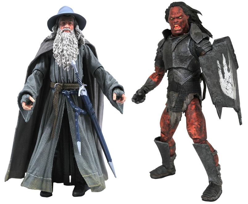 Gandalf and Uruk-Hai