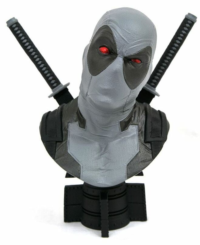 Marvel Legends in 3-Dimensions Comic SDCC X-Force Deadpool 1:2 Scale Bust