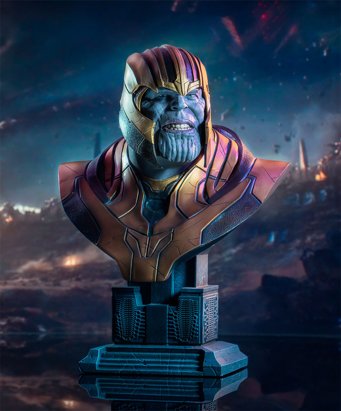 Marvel Avengers - Endgame Thanos  Legends in 3-Dimensions 1:2 Scale Bust