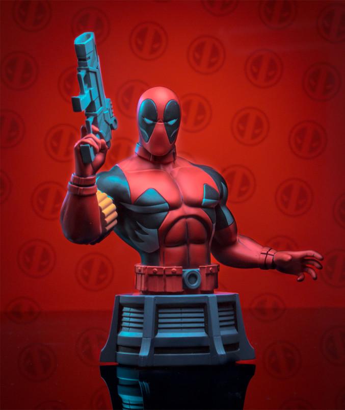 Marvel Animated X-Men Deadpool Bust