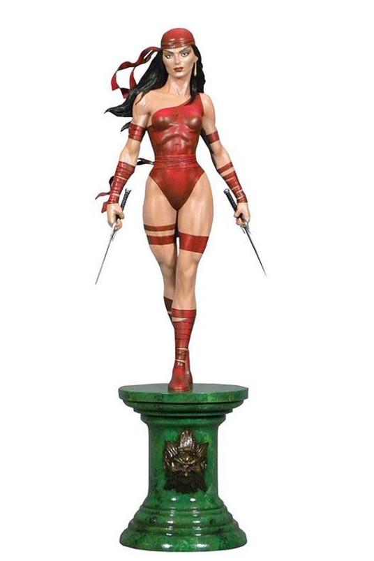 Marvel Comic Premier Collection Elektra Resin Statue